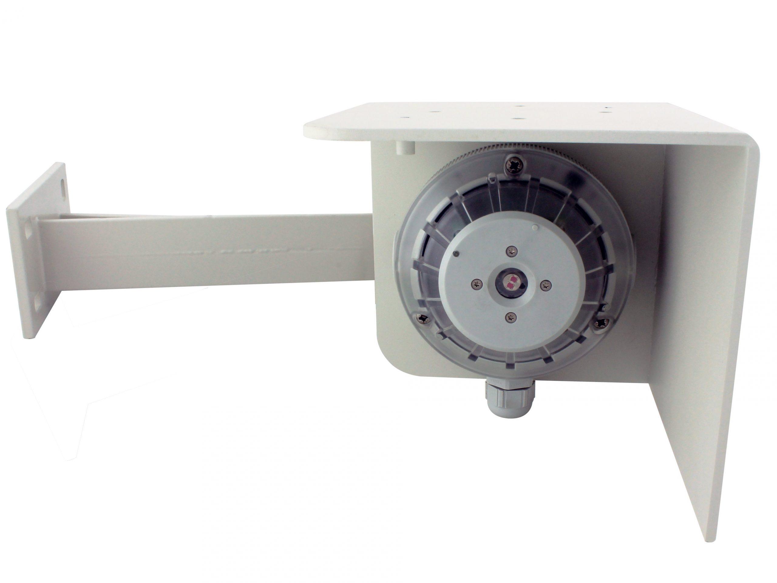 Autrosystems Vlamdetector BG-201 aan gevel Autronica