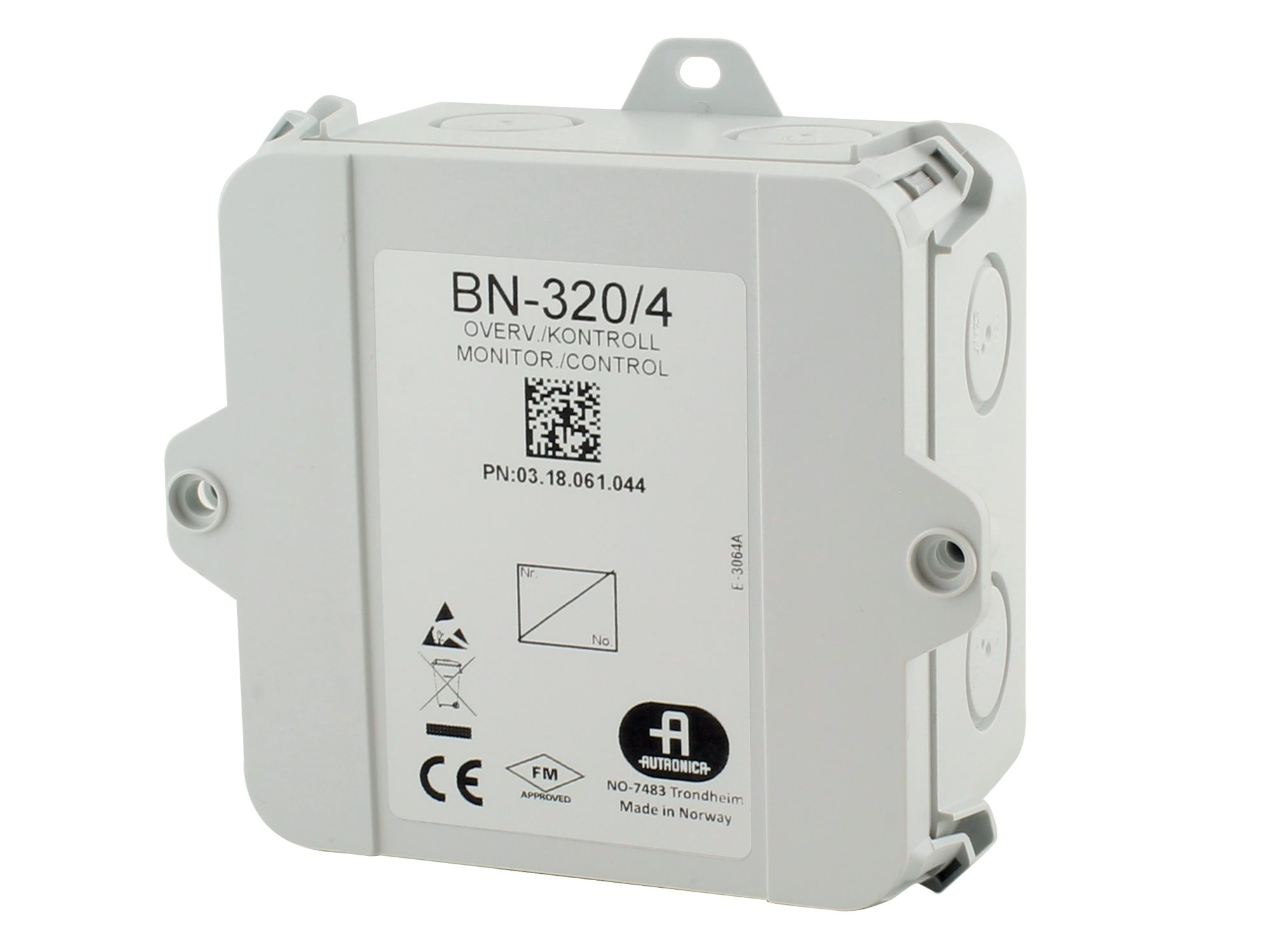 Overwakings- en besturingseenheid BN-320/4
